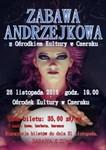 Zabawa Andrzejkowa w Ośrodku Kultury w Czersku