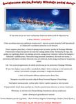 """Uwaga! - wszystkie listy już odebrane. Świąteczna akcja """"Święty Mikołaju podaj dalej"""""""