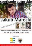 Spotkanie autorskie-Jakub Małecki