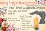 Warsztaty Florystyczne dla dorosłych i seniorów